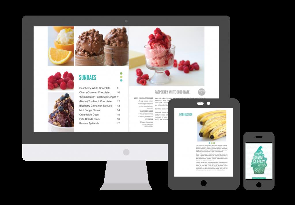Banana Ice Cream Ebook