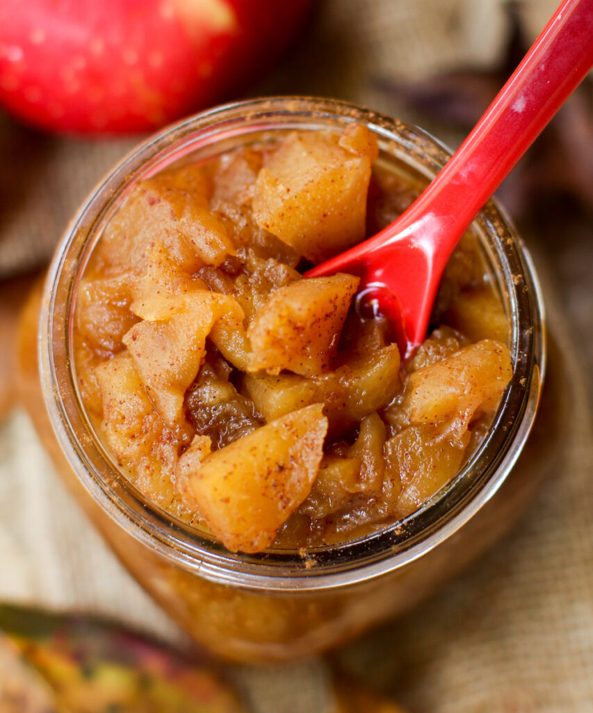 Homemade Extra Sweet Applesauce - FeastingonFruit.com