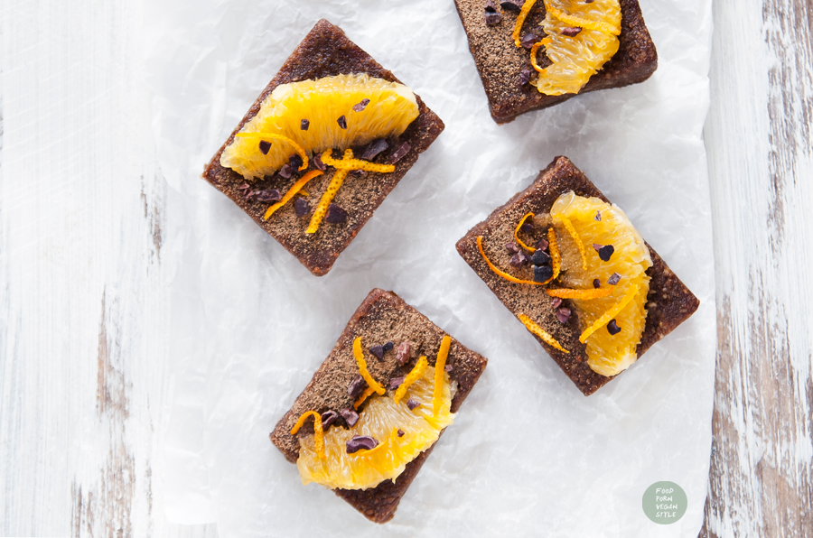Chocolate Orange Protein Brownies