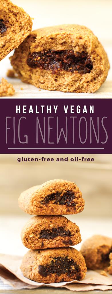 Vegan Gluten-Free Fig Newtons - FeastingonFruit.com