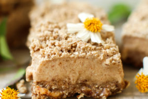 Cinnamon Streusel Ice Cream Bars (vegan + gluten-free)