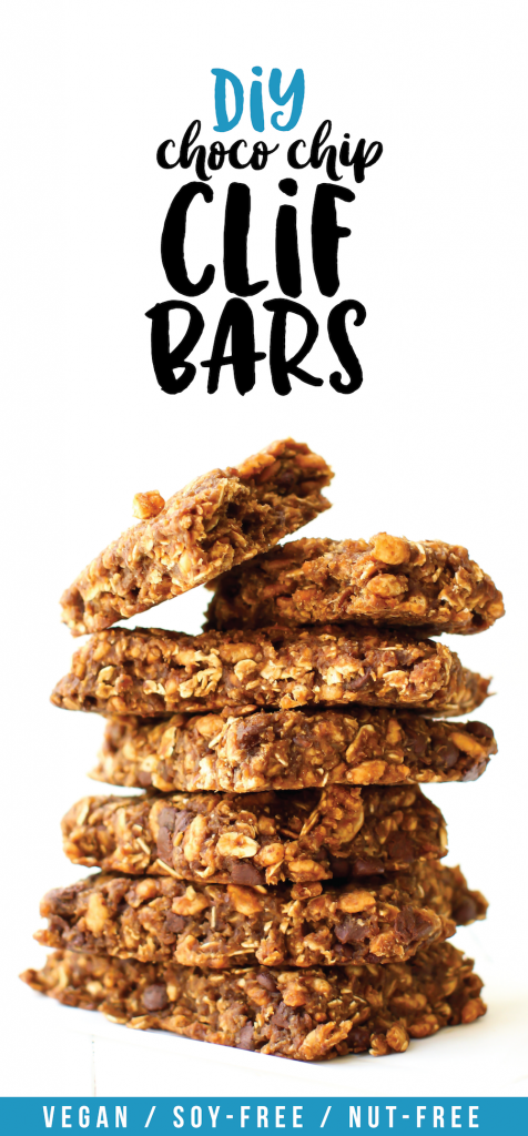 Homemade Clif Bars | Vegan, Gluten-Free, Chocolate Chip Recipe