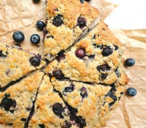 Lemon blueberry scones - Ceara's Kitchen