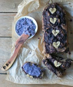 Blueberry-banana-bread-with-blueberry-coconut-butter - My Berry Forest