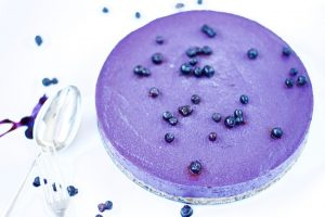 No Bake Blueberry Cheesecake - Win-Win Food