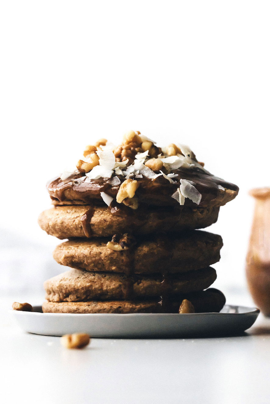 Fluffy Vegan Pancakes Without Bananas Gluten Free And Oil Free