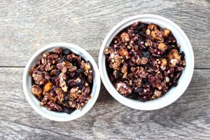 Blueberry Ginger Granola - Healthy Helper