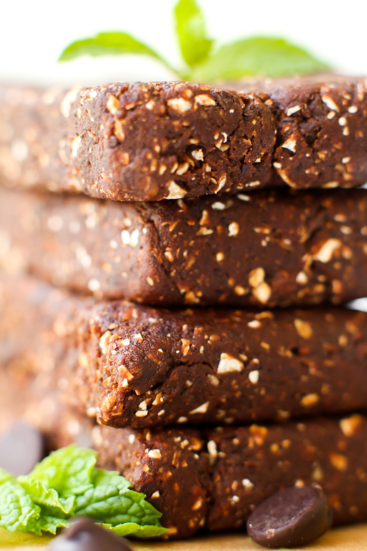 Mint Chip Brownie Homemade Larabars