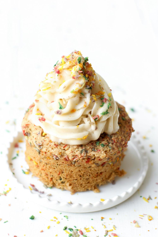 Funfetti Mug Cake | Vegan, Gluten-Free, Oil-Free