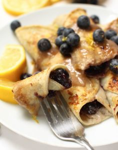 Lemon Blueberry French Toast Rolls - Feasting on Fruit