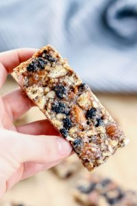 Vanilla-Blueberry-Cashew-Almond-Bars - Fit Mitten Kitchen