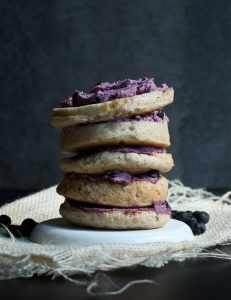 blueberry cream cheese - the vegan 8
