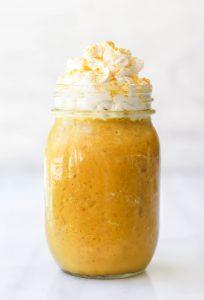 Golden Milk Frappuccino | Vegan & Fruit-Sweetened