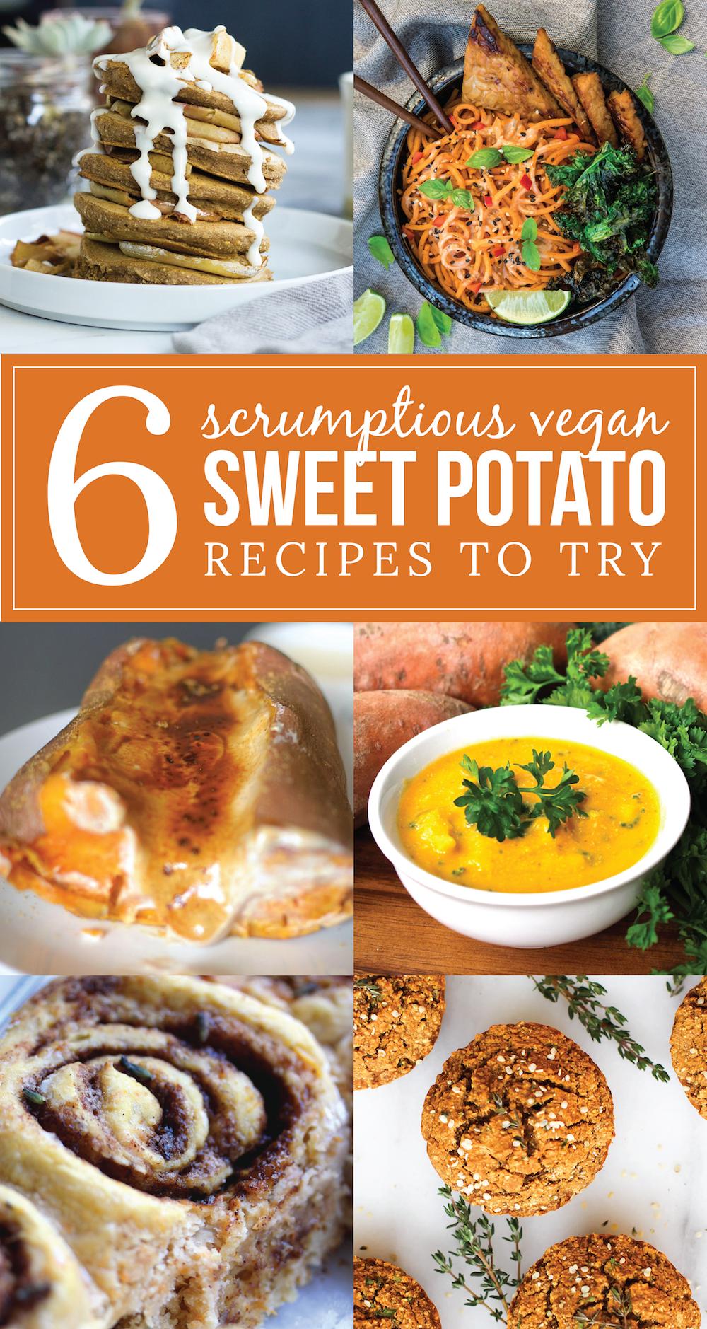 Vegan Sweet Potato Recipe Collaboration
