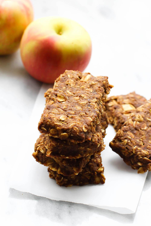 Caramel Apple Pie Bars (à la mode!) | Vegan & Gluten-Free