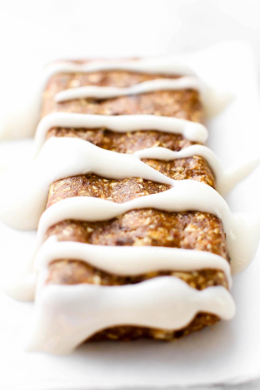 No-Bake Gingerbread Bars