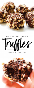 Rice Crispy Crunch Chocolate Truffles