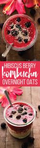 Berry Kombucha Overnight Oats