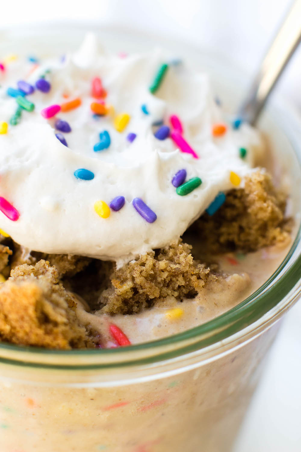 Birthday Cake Overnight Oat Parfait (Vegan & Gluten-Free)