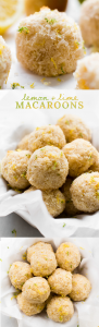 Lemon Lime Macaroons {vegan & oil-free}