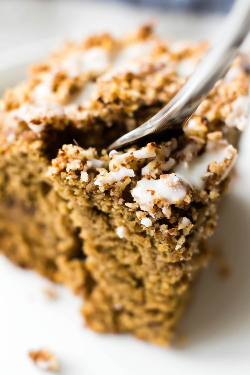 Vegan Coffee Cake {Gluten-Free & Oil-Free}