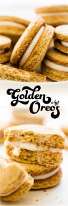 Golden Oreos {vegan, gluten-free, oil-free}