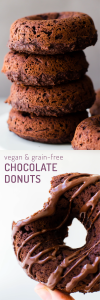 Chocolate Brownie Grain-Free Donuts