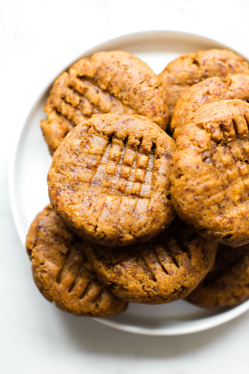 Vegan Grain-Free Peanut Butter Cookies