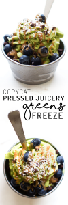 Copycat Pressed Juicery Freeze Greens Recipe {vegan & no banana!}
