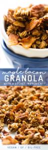 Vegan Maple Bacon Granola (with a secret ingredient!)