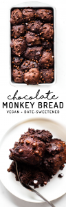 Chocolate Monkey Bread {vegan + paleo}