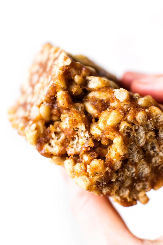 Date-Sweetened Vegan Rice Crispy Treats