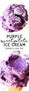 Purple Sweet Potato Ice Cream (vegan, paleo, low-fat)
