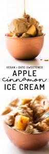No-Churn Apple Cinnamon Ice Cream