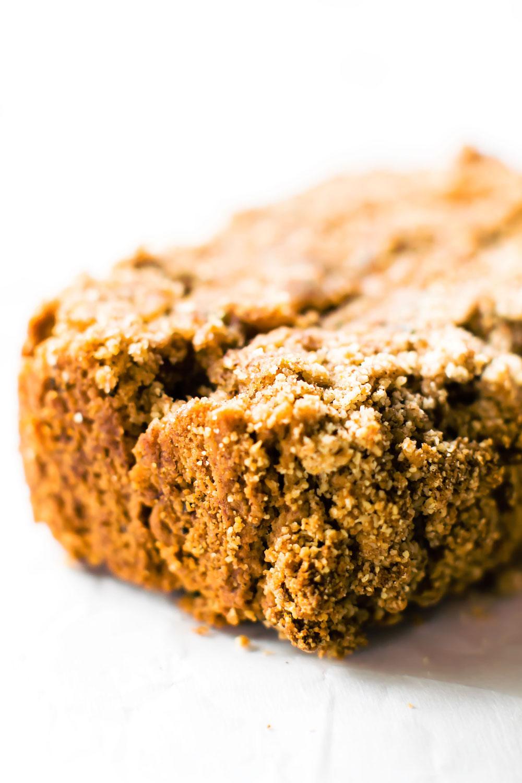 Cinnamon Streusel Zucchini Bread