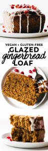 Glazed Gingerbread Loaf