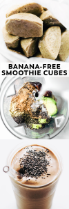 Banana-Free Smoothie Cubes