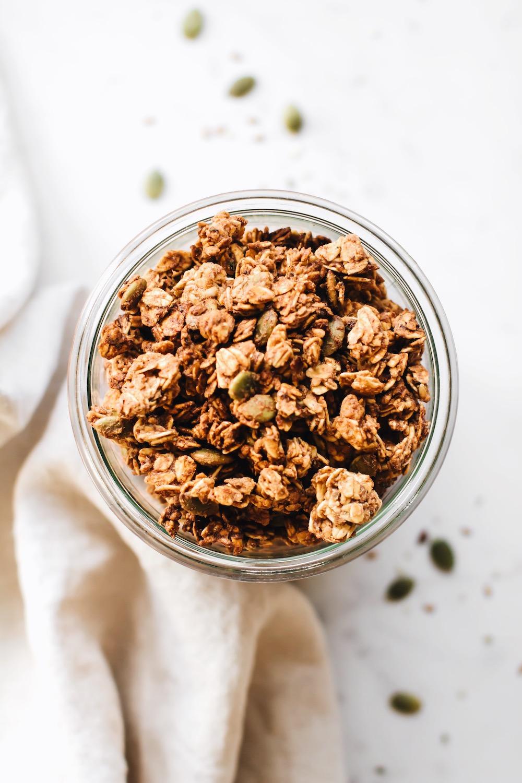 Date-Sweetened 3 Seed Granola