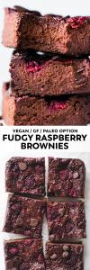 Fudgy Raspberry Brownies