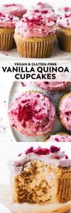 Vanilla Quinoa Flour Cupcakes