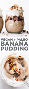 Creamy Vegan Banana Pudding
