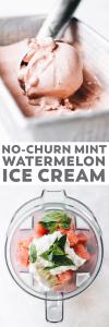 Watermelon Mint Ice Cream