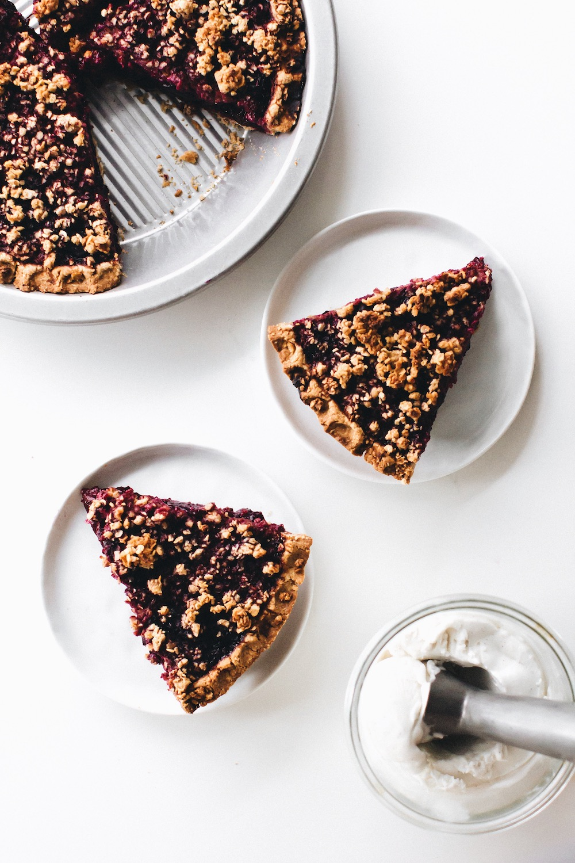 Gluten-Free Vegan Cherry Pie