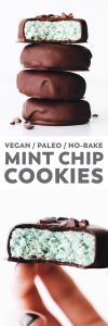 No-Bake Mint Chip Cookies