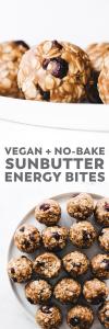 No-Bake SunButter Energy Balls