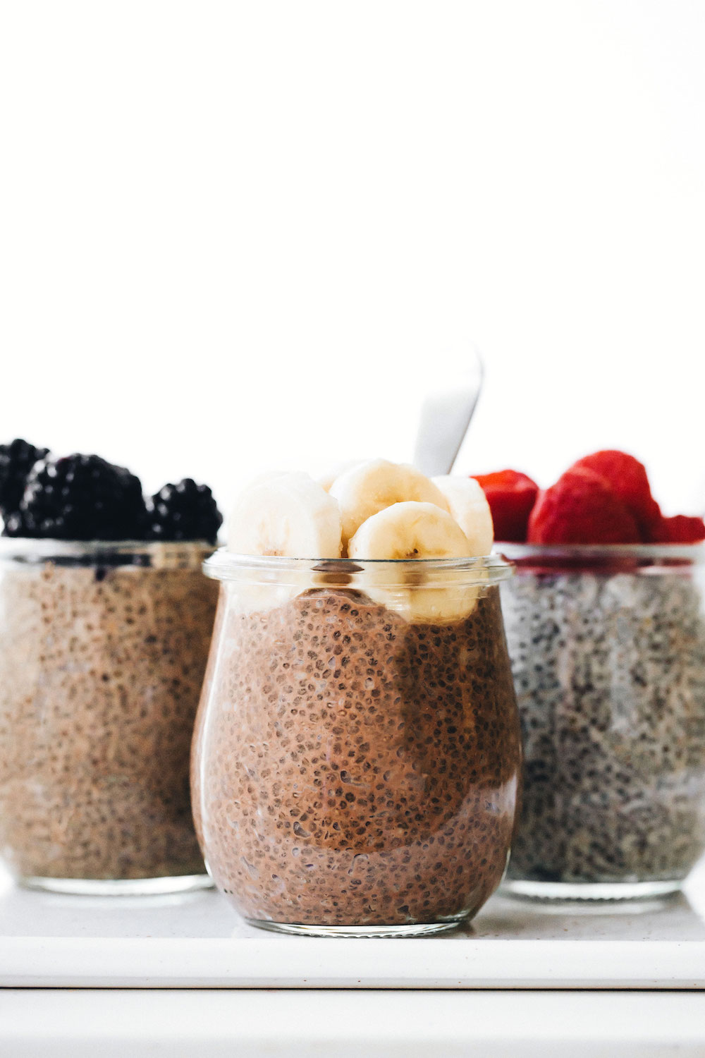 Mint Mocha Chia Pudding