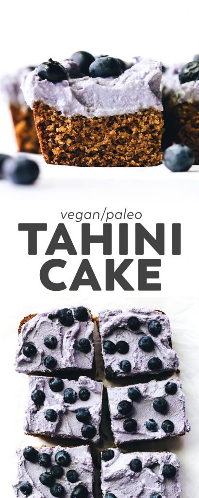 Grain-Free Tahini Cake (vegan + paleo)