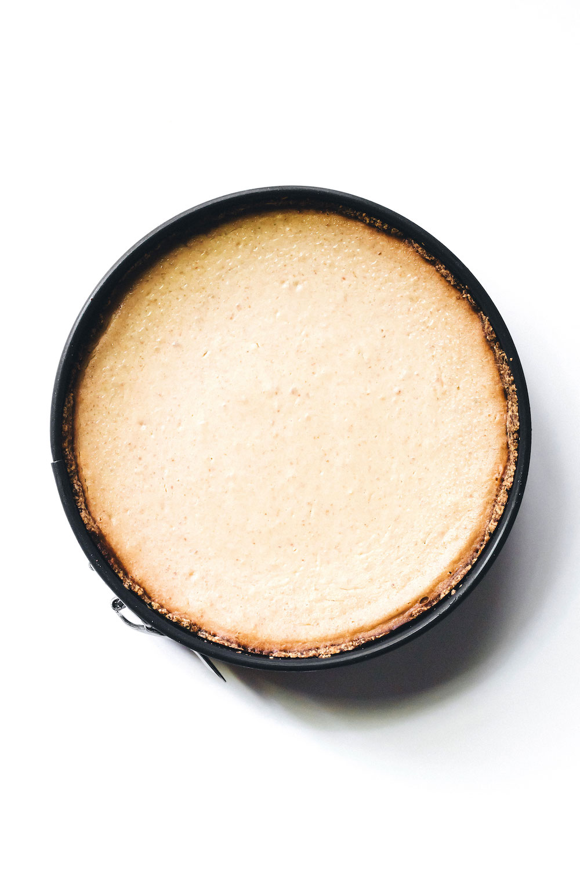 Medjool Date Baked Cheesecake