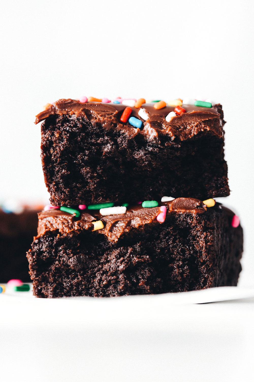 Vegan Cosmic Brownies