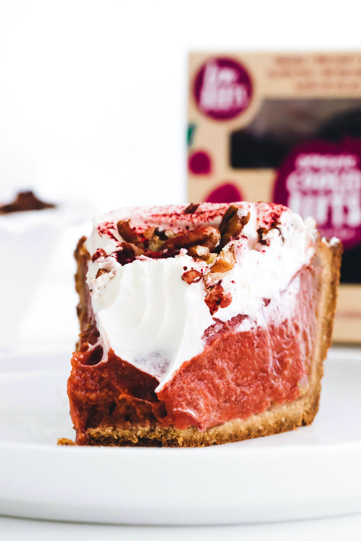 Beet Sweet Potato Pie